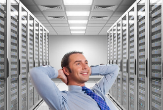 Happy Data Center IT Manager